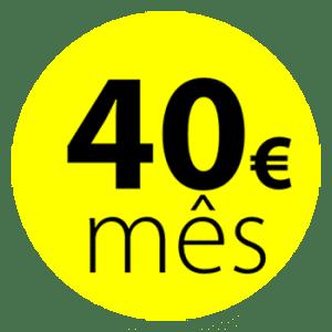 Valor de Renting - 40€