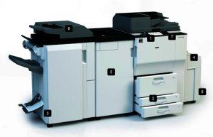 Multifunções Ricoh MP 6002/MP 7502/ MP 9002
