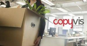 Mudança de instalações COPYVIS